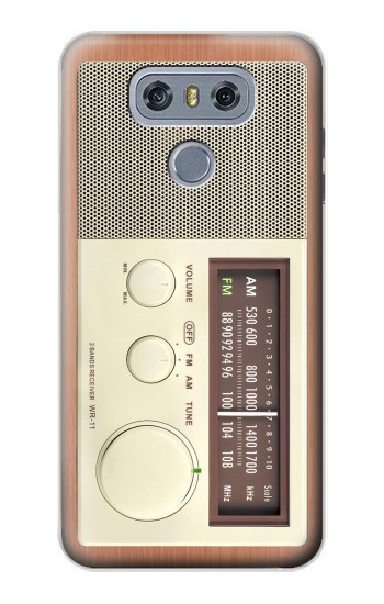 Printed FM AM Wooden Receiver Graphic alcatel Hero 2 Case