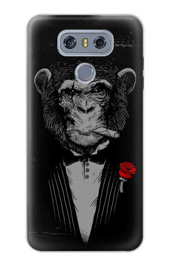 Printed Funny Monkey God Father alcatel Hero 2 Case