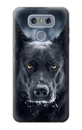 Printed German Shepherd Black Dog alcatel Hero 2 Case