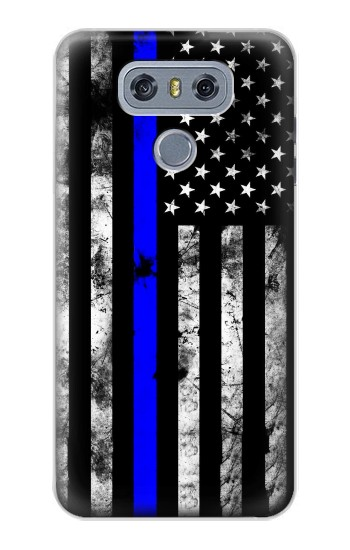 Printed Thin Blue Line USA alcatel Hero 2 Case