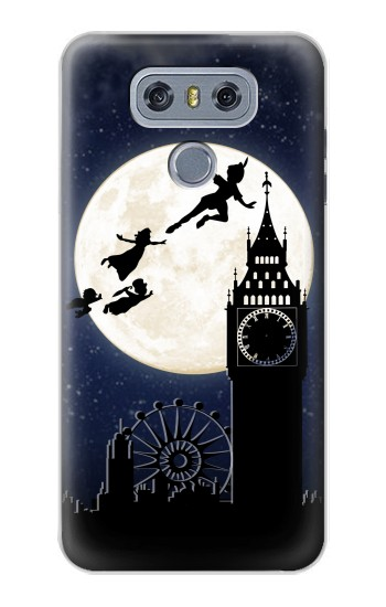 Printed Peter Pan Fly Fullmoon Night alcatel Hero 2 Case