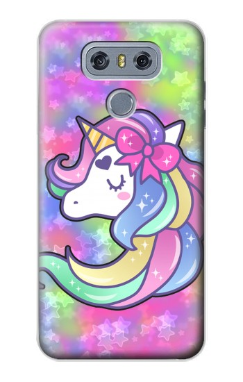 Printed Pastel Unicorn alcatel Hero 2 Case