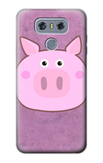 Printed Pig Cartoon alcatel Hero 2 Case