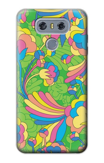 Printed Flower Line Art Pattern alcatel Hero 2 Case
