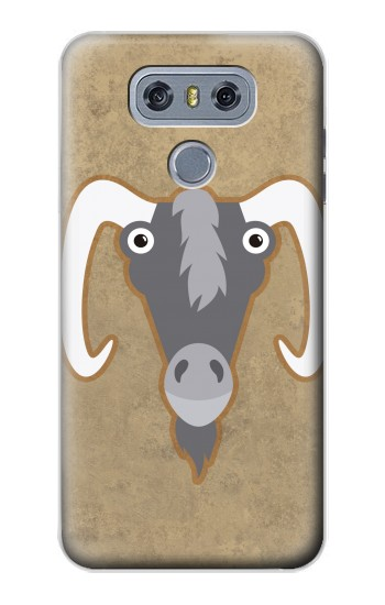 Printed Goat Cartoon alcatel Hero 2 Case