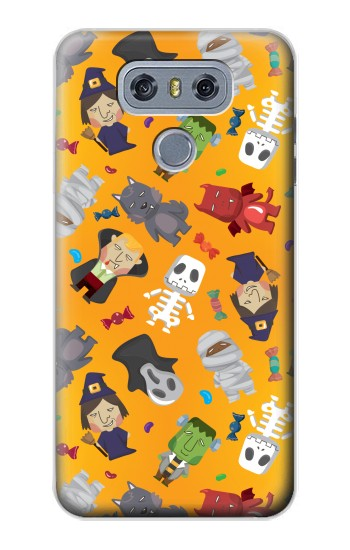 Printed Cute Halloween Cartoon Pattern alcatel Hero 2 Case
