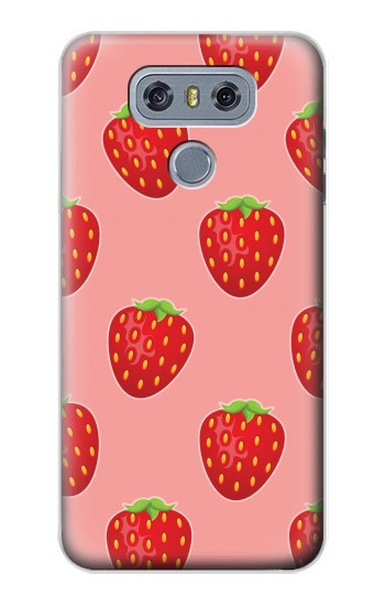 Printed Strawberry Fruit Pattern alcatel Hero 2 Case