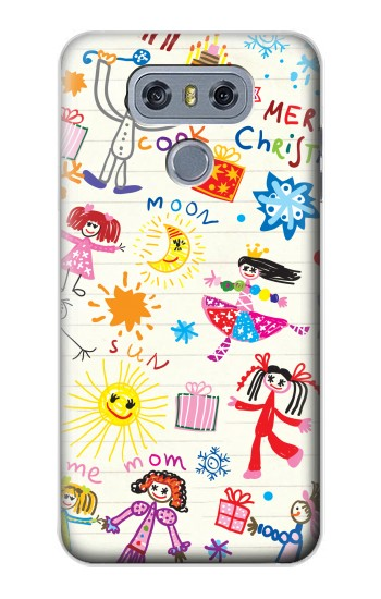 Printed Kids Drawing alcatel Hero 2 Case