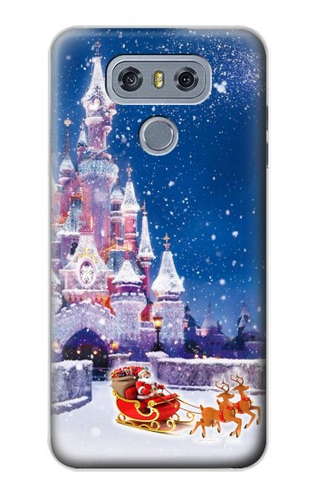Printed Santa Xmas Castle alcatel Hero 2 Case