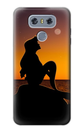 Printed Mermaid Sunset alcatel Hero 2 Case