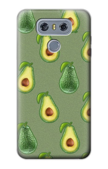 Printed Avocado Fruit Pattern alcatel Hero 2 Case
