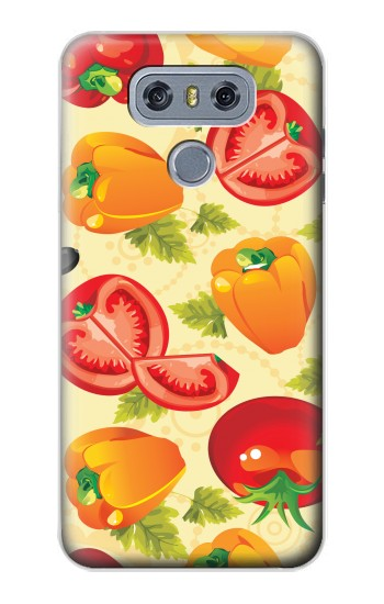 Printed Seamless Food Vegetable alcatel Hero 2 Case