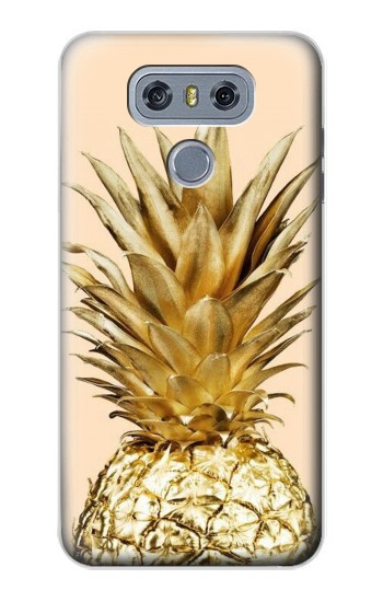 Printed Gold Pineapple alcatel Hero 2 Case