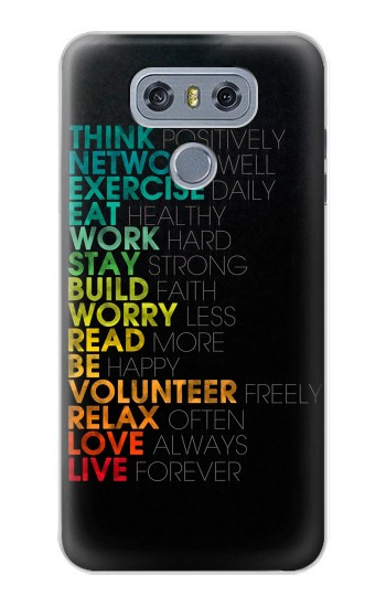 Printed Think Positive Words Quotes alcatel Hero 2 Case