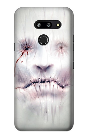 Printed Horror Face LG G8 ThinQ Case