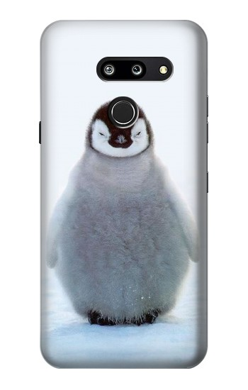 Printed Penguin Ice LG G8 ThinQ Case