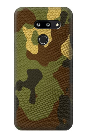 Printed Camo Camouflage Graphic Printed LG G8 ThinQ Case