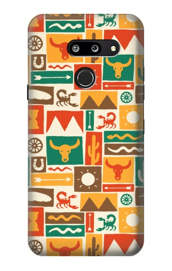 Printed Western Pattern LG G8 ThinQ Case