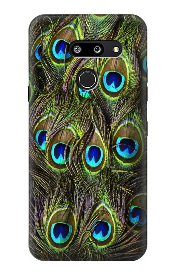 Printed Peacock Feather LG G8 ThinQ Case