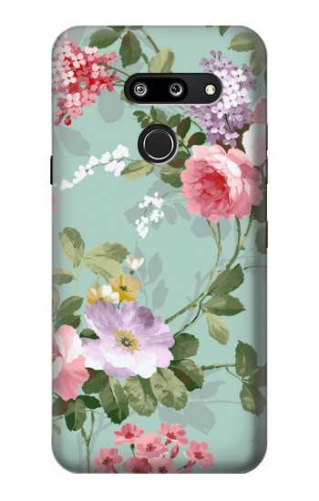 Printed Flower Floral Art Painting LG G8 ThinQ Case