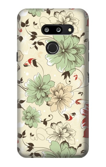 Printed Flower Floral Vintage Art Pattern LG G8 ThinQ Case