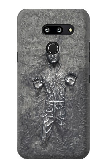 Printed Han Solo in Carbonite LG G8 ThinQ Case