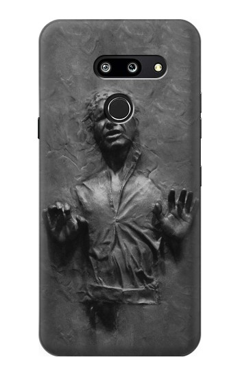Printed Han Solo Frozen in Carbonite LG G8 ThinQ Case
