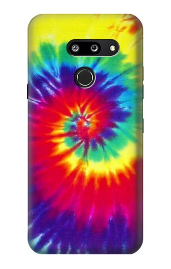 Printed Tie Dye Fabric Color LG G8 ThinQ Case
