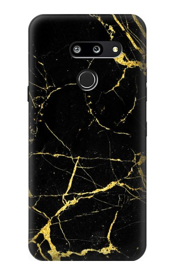 Printed Gold Marble Graphic Printed LG G8 ThinQ Case