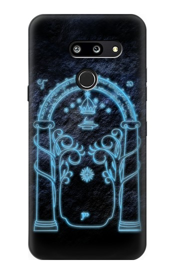 Printed Lord of The Rings Mines of Moria Gate LG G8 ThinQ Case