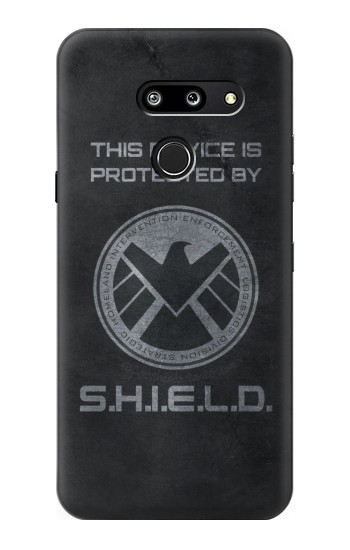 Printed This Device is Protected by Shield LG G8 ThinQ Case