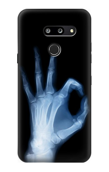 Printed X-Ray Hand Sign OK LG G8 ThinQ Case