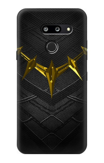 Printed Black Panther Inspired Costume Gold Necklace LG G8 ThinQ Case