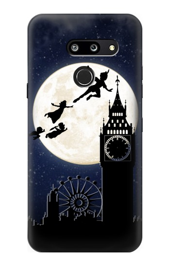 Printed Peter Pan Fly Fullmoon Night LG G8 ThinQ Case