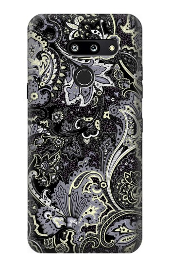 Printed Batik Flower Pattern LG G8 ThinQ Case