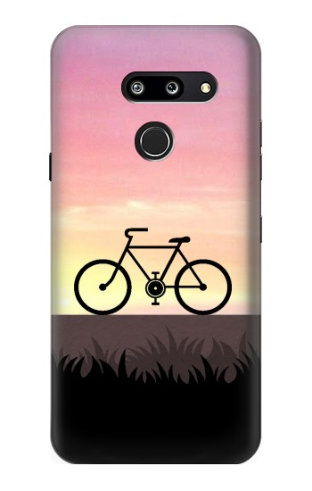 Printed Bicycle Sunset LG G8 ThinQ Case