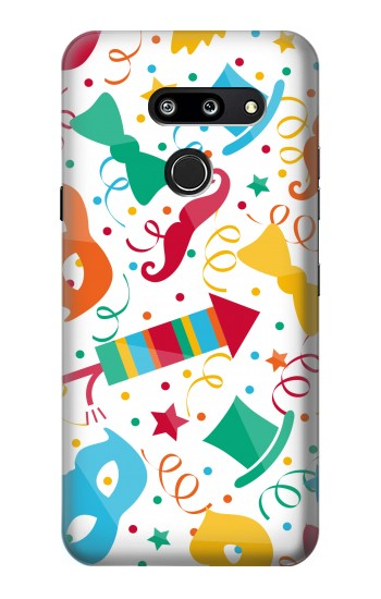 Printed Carnival Pattern LG G8 ThinQ Case