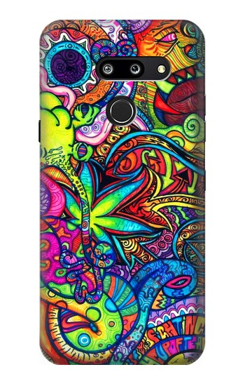 Printed Colorful Art Pattern LG G8 ThinQ Case
