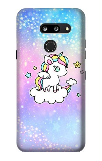 Printed Cute Unicorn Cartoon LG G8 ThinQ Case