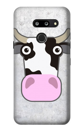 Printed Cow Cartoon LG G8 ThinQ Case