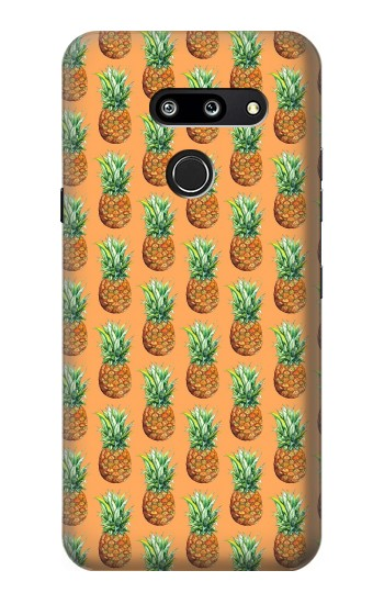 Printed Pineapple Pattern LG G8 ThinQ Case