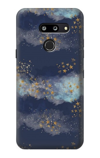 Printed Gold Star Sky LG G8 ThinQ Case