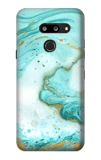 Printed Green Marble Graphic Print LG G8 ThinQ Case