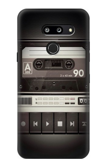 Printed Vintage Cassette Player LG G8 ThinQ Case
