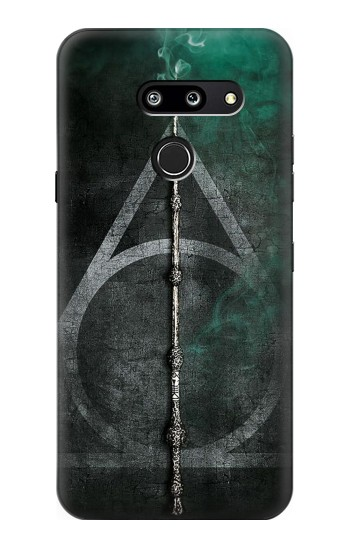 Printed Harry Potter Magic Wand LG G8 ThinQ Case