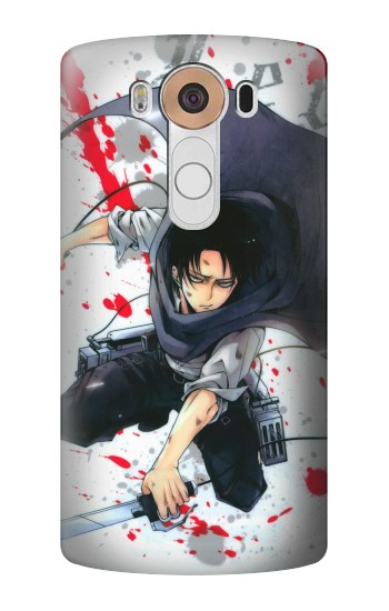 Printed Attack on Titan Rivaille Levi LG V10 Case