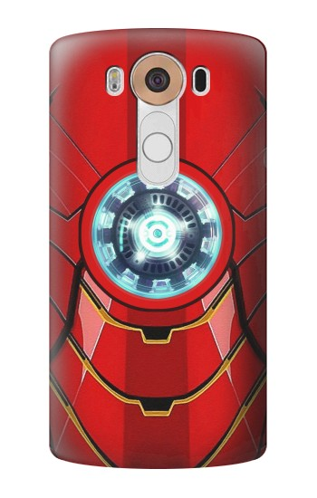 Printed Ironman Armor Arc Reactor Graphic Printed LG V10 Case