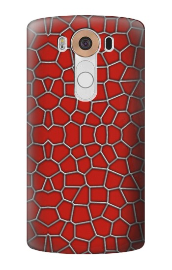 Printed Red Spider Texture LG V10 Case