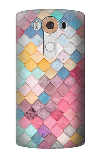 Printed Candy Minimal Pastel Colors LG V10 Case