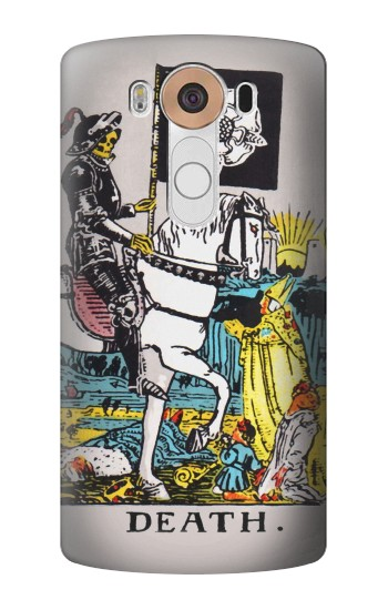 Printed Tarot Card Death LG V10 Case